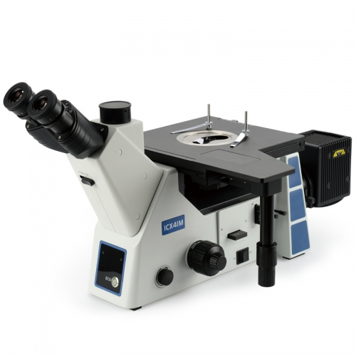 SWG-ICX41M three eye inverted metallographic microscope